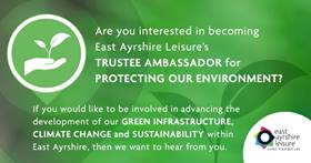 Could you be our Trustee Ambassador for Protecting Our Environment?